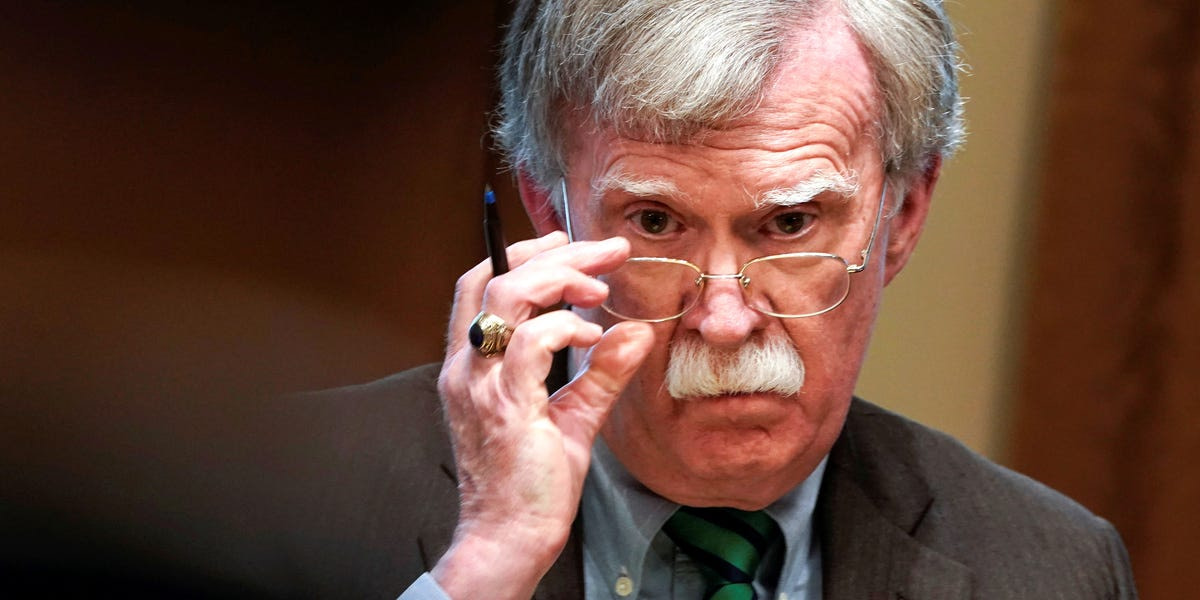 Top House Democrat said John Bolton 'strongly implied that something improper' happened with former ambassador Marie Yovanovitch's ouster