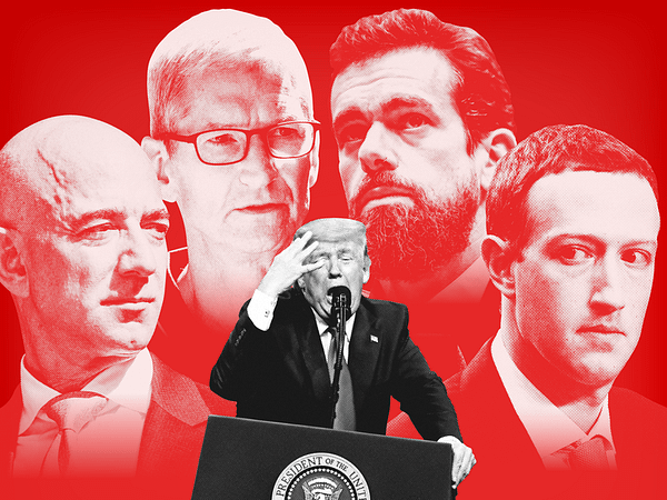 How Silicon Valley banished Donald Trump in 48 hours