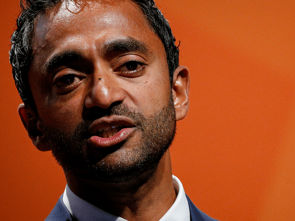 Chamath Palihapitiya posted a thirst entice. That's it. That is the narrative.
