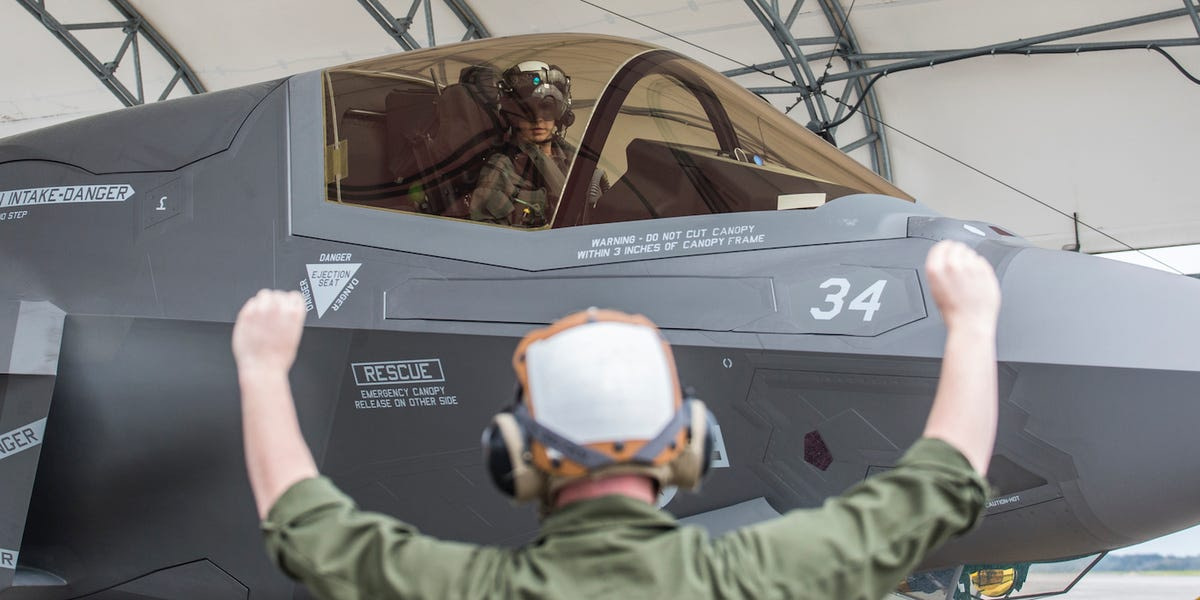 The Marine Corps may not have enough pilots for all of its F-35s, the Corps' top general says