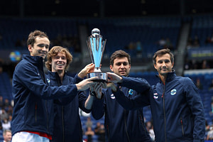, Medvedev, Rublev fire Russia to maiden ATP Cup victory