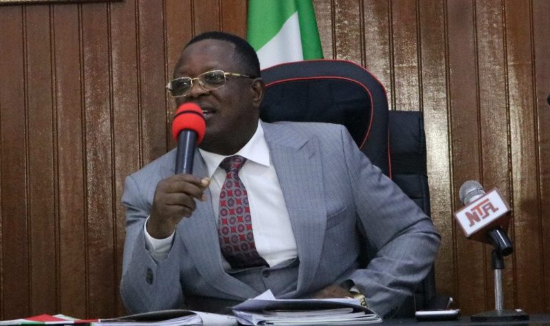 Umahi replies Wike, accuses Rivers governor of 'far off-controlling' PDP