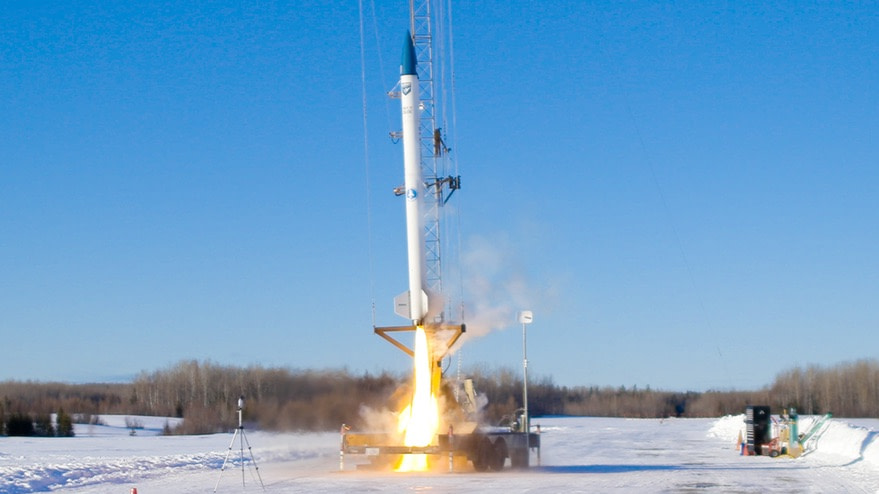 Startup tests hybrid engine for small launch vehicle