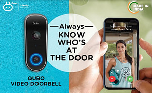 , Hero Electronix Announces the Launch of Qubo Video Doorbell – India's First-of-its-kind Smart Doorbell