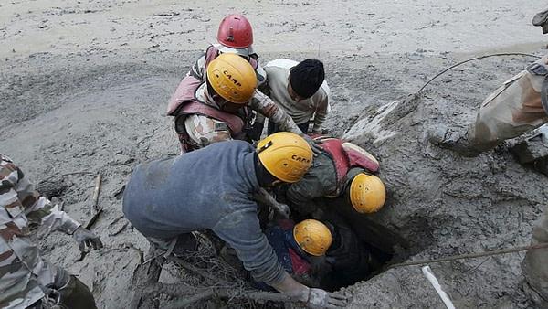 200 missing in India after burst glacier causes flash flooding