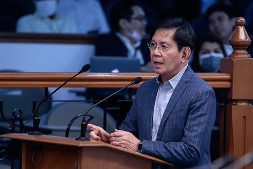 Lacson questions local prices of Sinovac