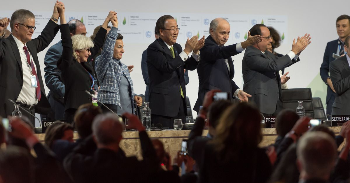 The US will abandon a worldwide climate agreement on November 4th