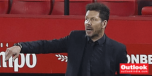 , Diego Simeone Not Nervous But Questions Atletico Madrid's Intensity As La Liga Leaders Slip Up