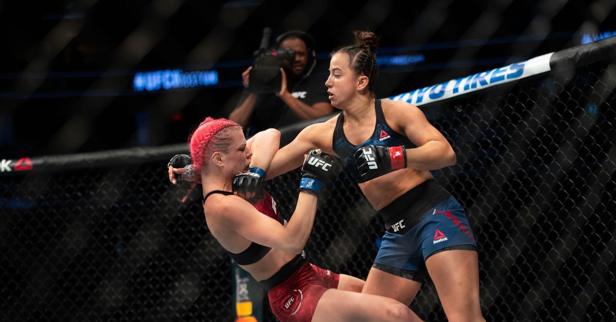 Maycee Barber still just as ambitious in pursuit of UFC title after year off: 'I'm never going to shoot and aim low'