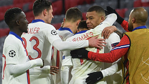 , Mbappe stars as PSG rating at holders Bayern Munich